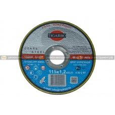 Круг отрезной TIGARBO 115x1,2x22 (сталь)