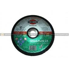 Круг отрезной TIGARBO 180х3,0x22 (камень)
