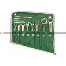 Набор комбинированных ключей 8 шт сумка ДТ/20 Дело Техники 511081