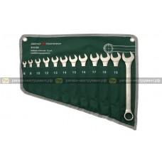 Набор ключей комбинированных (ЕВРО), 12 штук, планшет тетрон.