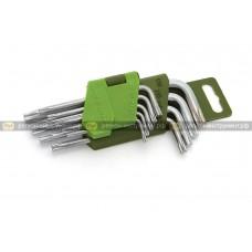 Набор ключей TORX коротких 9шт 563 090