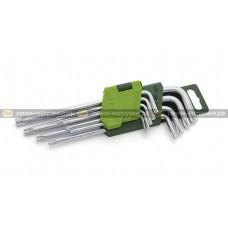 Набор ключей угловых TORX 9шт 563091