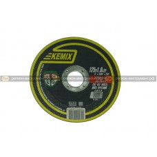 Круг отрезной KEMIX 125x1,0x22 (сталь)