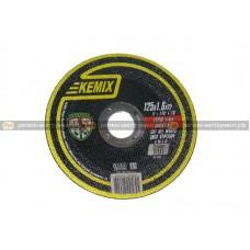 Круг отрезной KEMIX 125x1,6x22 (сталь)