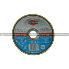 Круг отрезной TIGARBO 125x1,6x22 (сталь)