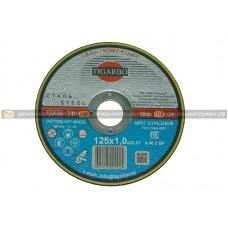 Круг отрезной TIGARBO 125x1,0x22 (сталь)