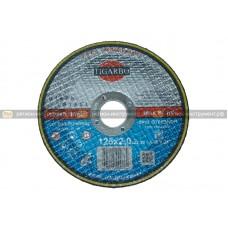 Круг отрезной TIGARBO 125x2,0x22 (сталь)